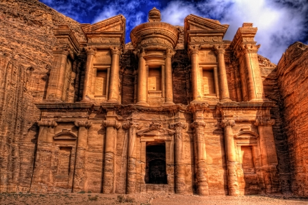 The Monastry in Petra