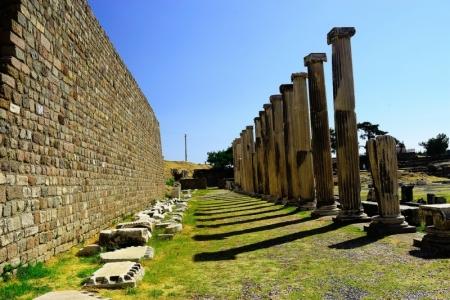 La ruinas de la ciudad de Izmir