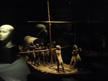 Sailing Group Model, Greco-Roman Museum