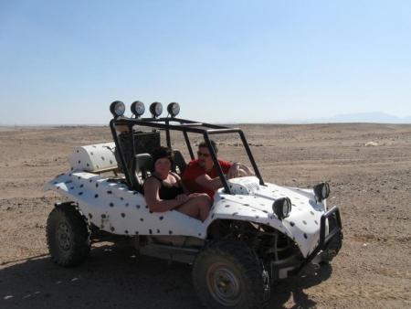 Morning Car buggy safari