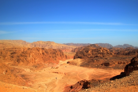 Panoramic View of Coloured Canyon