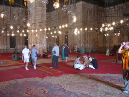 Mohamed Ali Mosque Interior