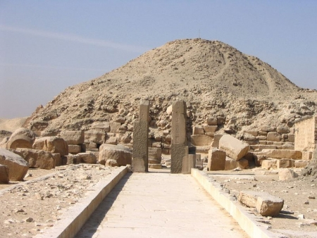 Pyramid of Teti at Saqqara