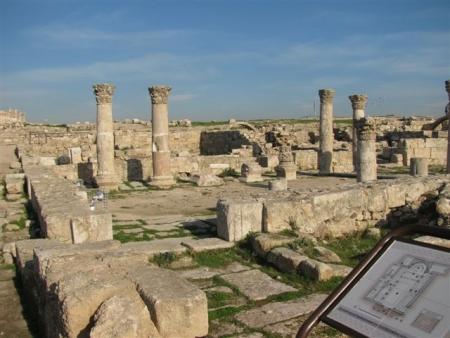 アンマン城、ヨルダン