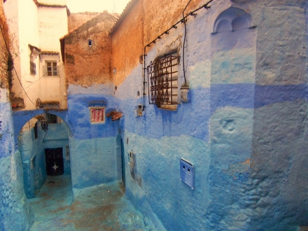 Chefchaouen Houses
