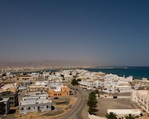 Sur City in Oman