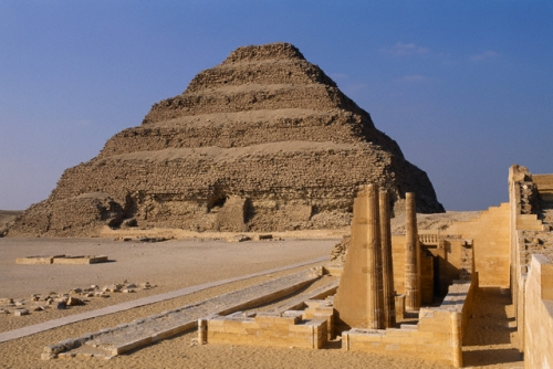 Djoser Pyramid in Giza