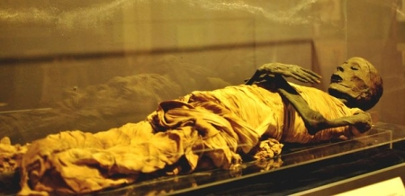 Sala delle Mummie al Cairo