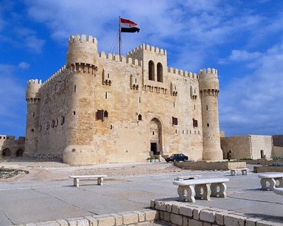 Qaitbay Zitadelle, Alexandrien.