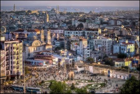 Beyoğlu – Taksim in Turkey