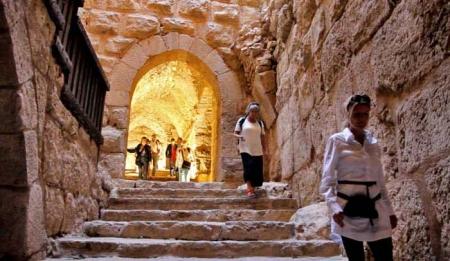 Castillo de Ajlun, jordania.