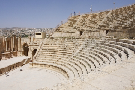The Roman Theatre in Jerash