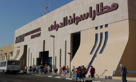 Entrance of Aswan Airport