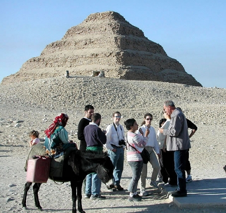 A Family at Saqqara