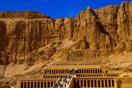 Hatshepsut temple at El Deir El Bahary, Luxor