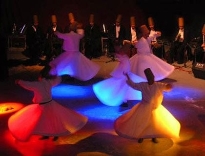 Turkish Oriental Show during The Dinner Night in Hurghada