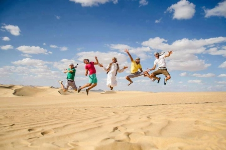 Have Fun at the Desert, Egypt