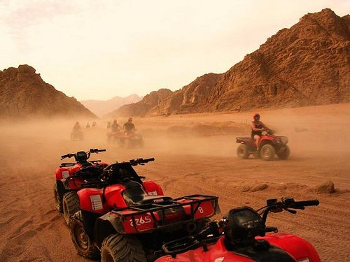 Desert Safari in Sharm by Quad Bike