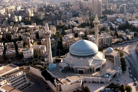 King Abdullah Mosque in Amman City