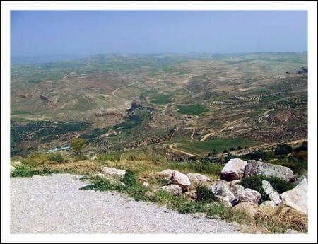 Nebo Berg in Jordanien