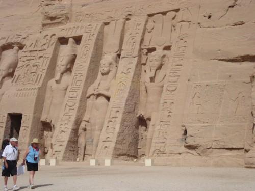 Temple of Queen Nefertiti,Abu Simble
