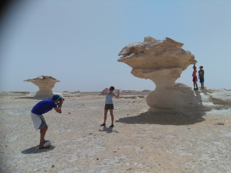 Rock Formations at the Desert