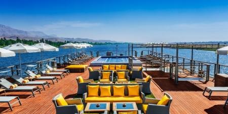 The Oberoi Philae Nile Cruise Pool
