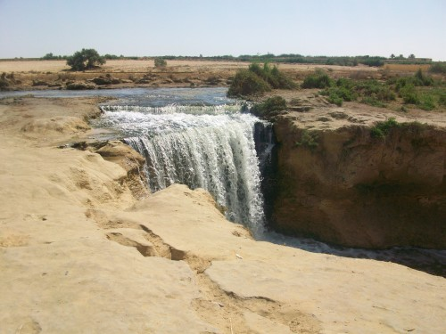 Wadi El Rayan Waterfalls