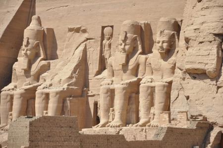 The Sun Temple - Ramses II at Abu Simbel