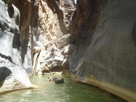 Wadi Bani Awf Snake Canyon