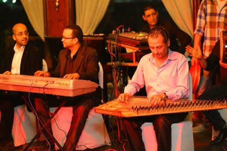 Oriental Egyptian Music at Dinner Nile Cruise, Cairo