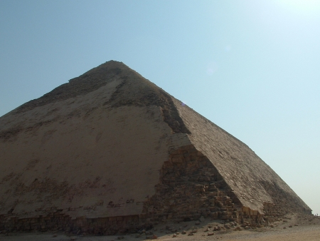 The Bent Pyramid at Dahshure Area