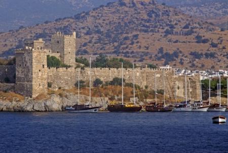 El castillo de San Pedro desde fuera