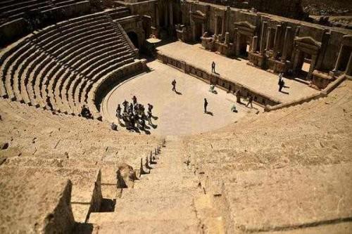 O Teatro Romano, Jordânia