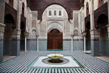 アッタリン神学校、フェズ、モロッコ