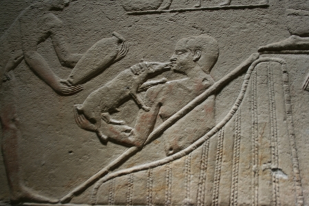 Relief from the Tomb of Kagemni at Memphis Necropolis