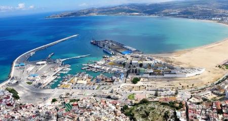 Porto di Tangeri, Marocco