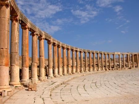 Piazza Ovale di Jerash