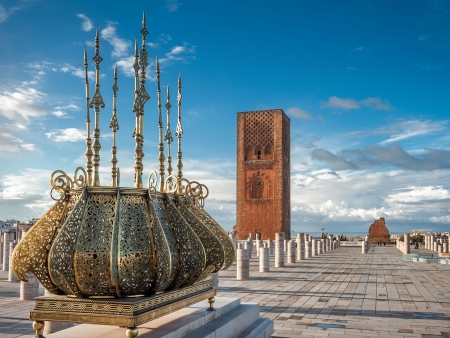 Torre Hassan di Rabat