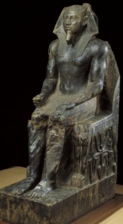 Statue of Khafre (Chephren), Egyptian Museum