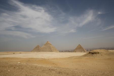 Panorama of Pyramids