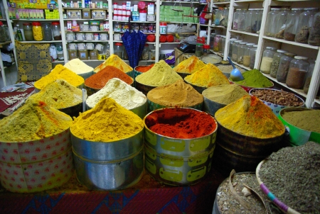 spices souks in Agadir