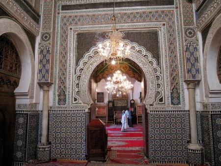ムーレイ・イドリス廟、フィズ、モロッコ