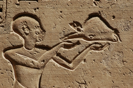 Ramesses IV Presenting Offering Scene