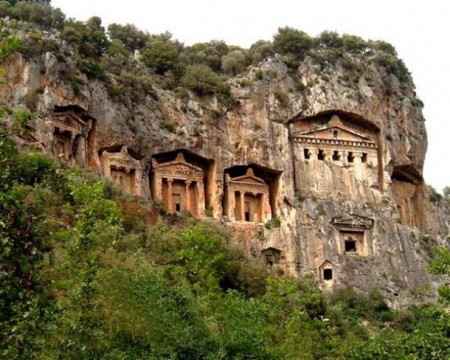 The Rock Tombs. Kaunos