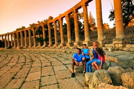 Roman Jerash in Jordan