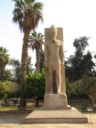 Rameses II Statue in Open Museum