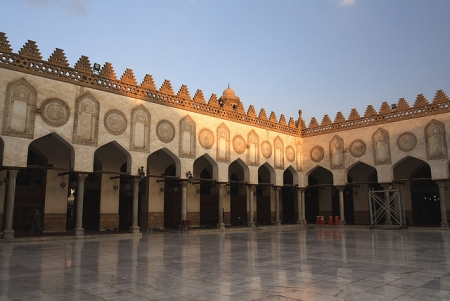 Al Azhar Mosque Open Iwan