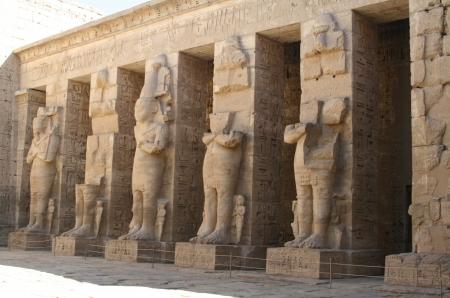 Madinet Habu - El Templo de Ramses III