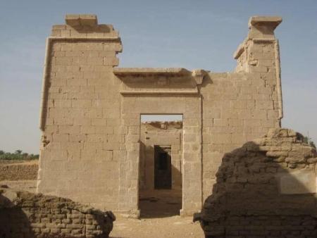 Qasr Al-Dush, Oasis de Kharga